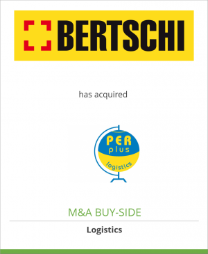 Tombstone image for Bertschi AG has acquired Per Plus Logistics BV