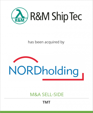 Tombstone image for R&M Ship Technologies  has been acquired by NORD Holding GmbH