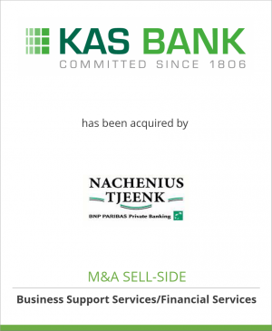 Tombstone image for KAS BANK Private Banking has been acquired by Nachenius Tjeenk