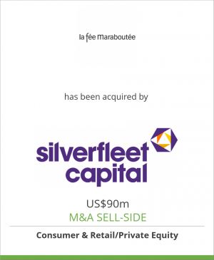 Tombstone image for La Fée Maraboutée has been acquired by Silverfleet Capital