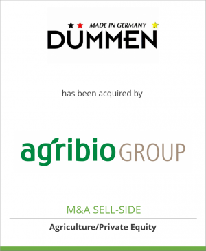 Tombstone image for Dümmen has been acquired by Agribio Group