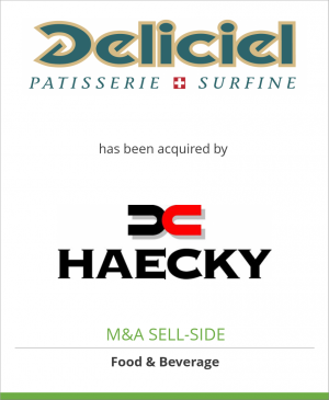 Tombstone image for Deliciel AG has been acquired by Haecky Holding AG