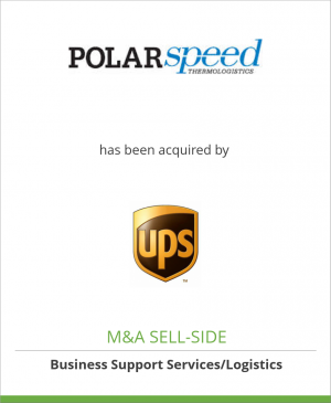Tombstone image for Polar Speed Distribution Limited has been acquired by United Parcel Service Inc.