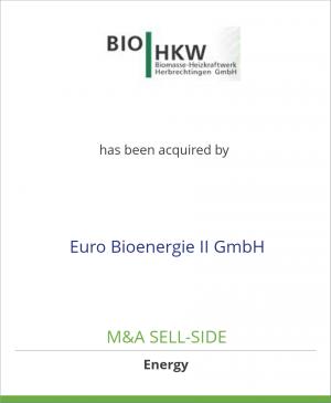 Tombstone image for Biomasse Heizkraftwerk Herbrech has been acquired by Euro Bioenergie II GmbH