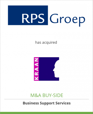 Tombstone image for RPS Group Plc has acquired Kraan Consulting