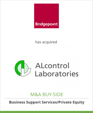 Tombstone image for Bridgepoint Capital has acquired ALcontrol Laboratories
